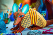 Leinwanddruck Bild - Alebrije, trancelate; Mexical art craft in Oaxaca