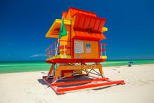 Lifeguard Tower. Miami Beach. ...