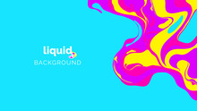 Abstract Liquid Background, In...