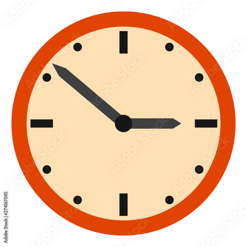 Reloj en Vector Wallpaper Mural