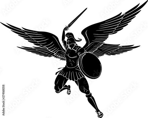 Fotografija Archangel Sword Strike, Mid Air Front View