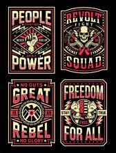 Vintage Propaganda T-shirt Designs Collection