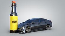 Drunk Driving Concept Car Cras...