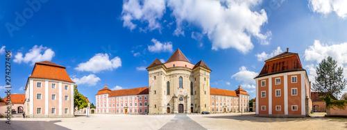 Fotobehang Oude gebouw Kloster Wiblingen in Wiblingen (Ulm), Deutschland