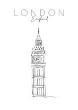 Poster UK Big Ben