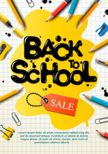Back To School Sale Poster And...