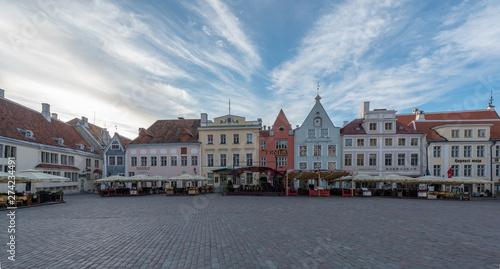 Staande foto Oost Europa Town Hall Square Tallinn Estonia