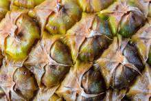 Close-up Of Pineapple Skin Tex...
