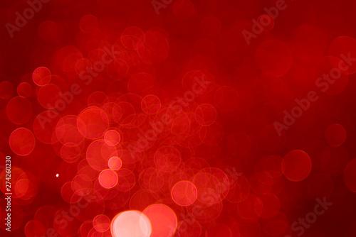 Pinturas sobre lienzo  Ruby red bokeh background, red, background, love, bokeh