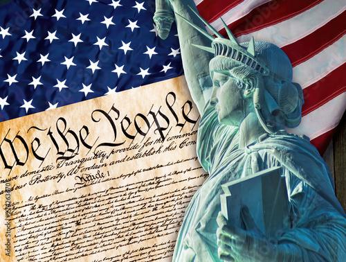 Fotografie, Obraz  Statue of Liberty.