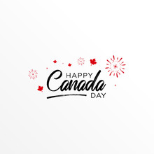 Canada Day, Canada Victory Day Vector Design Template