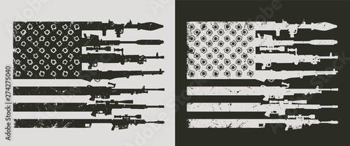 Canvas Print Vintage military concept