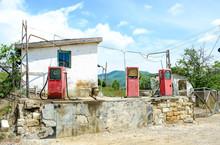 Old Abandoned Gas Station.