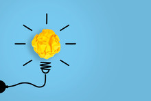 Idea Concepts Light Bulb With ...