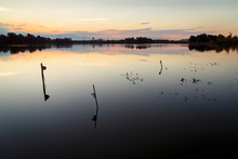 John Heinz National Wildlife Refuge, Philadelphia, Pennsylvania, USA: Sunrise At The NWR.