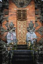 Decorative Entrance To A Templ...