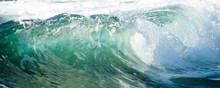 Textured Wave Detail In Ireland
