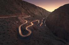 Morocco, Dades Gorges, Sandsto...