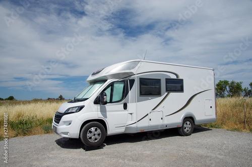 Fotomural camping car