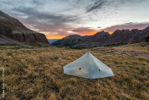 Camping in the Maroon Bells-Snowmass Wilderness - Buy this
