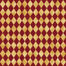 Red And Gold Seamless Pattern ...