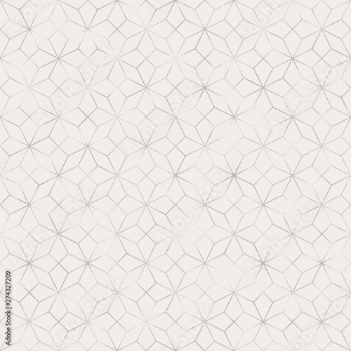 Art Deco Seamless Pattern - Repeating metallic pattern design with art deco moti Canvas Print