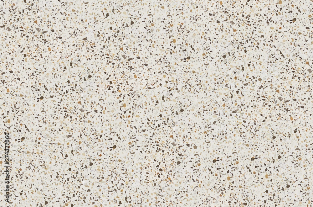 Fototapety, obrazy: Terrazzo texture. Polished concrete floor and wall pattern. Color surface marble and granite stone, material for decoration