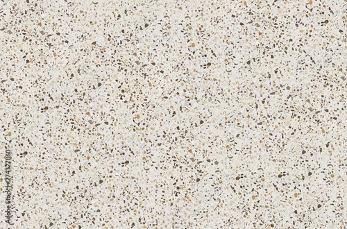 Photo sur Aluminium Cailloux Terrazzo texture. Polished concrete floor and wall pattern. Color surface marble and granite stone, material for decoration