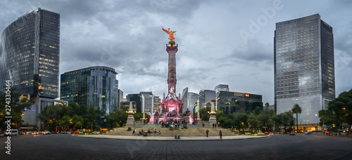 Mexico´s city monument - 274330464