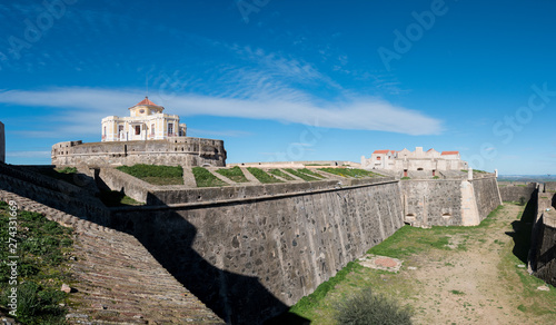 Photo Forte de Nossa a unique 18th-century pentagonal fort on a hill, with panoramic v