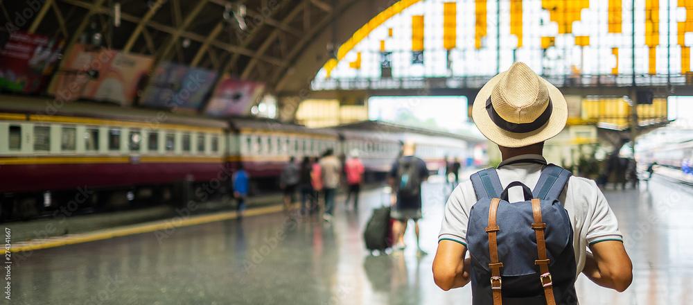 Fototapeta Bangkok travel concept