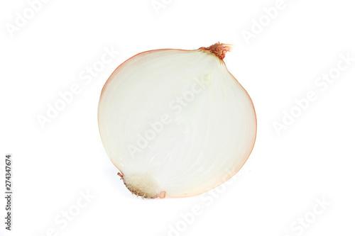 onion isolated on white Canvas-taulu
