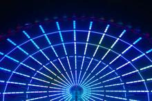 A Ferris Wheel At The Amusemen...