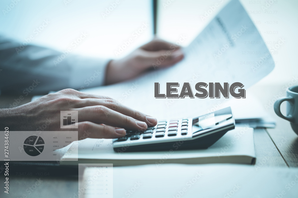 Fototapety, obrazy: LEASING CONCEPT