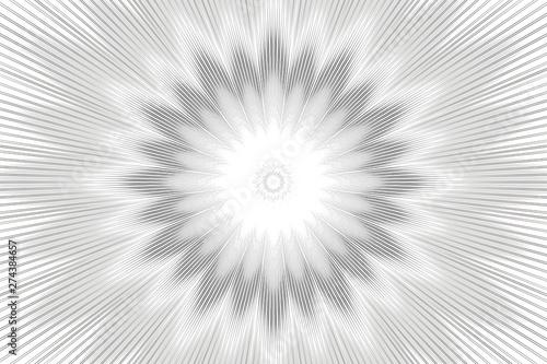Photo monochrome pattern background floral kaleidoscope