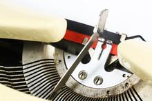 Detail Of An Old Typewriter Fr...