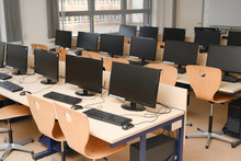 Computer Room For Pupils And S...