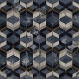 Geometria nowoczesny wzór powtarzalny z teksturami - 274399085