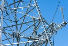 High Voltage Power Line Tower ...