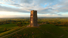 Glastonbury Tor Monument, England, UK