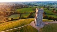 Glastonbury Tor Monument, Engl...