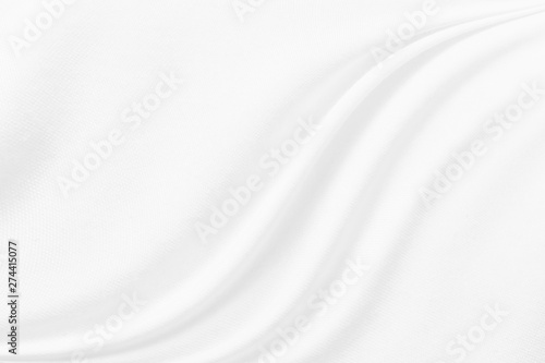Fotografía  abstract white fabric cloth texture background
