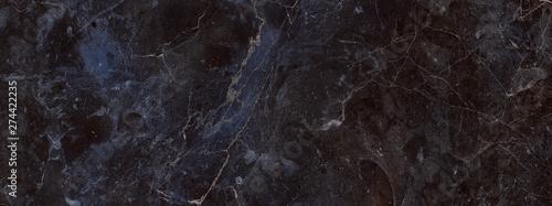 Obraz dark color marble texture, black marble background - fototapety do salonu