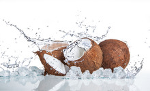 Tropical Coconut With Ice And ...