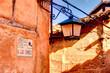 Leinwanddruck Bild - Albarracin, Aragon, Spain