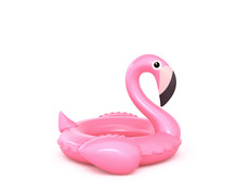 Inflatable Pink Flamingo Isola...