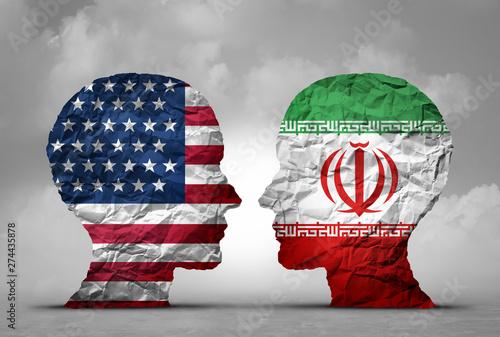 Fotografija  Iran USA Tensions