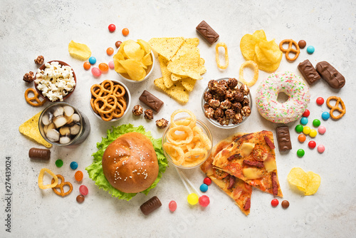 Fotografía  Unhealthy Eating