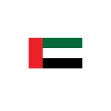 Flag UAE Vector. United Arab E...