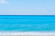 Beautiful beach, Kathisma beach on Lefkada, Greece.